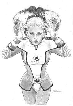 Saturn Girl, Legion Of Superheroes, George Perez, Princess Zelda, Fictional Characters, Art, Illustrations, Drawings, Art Background