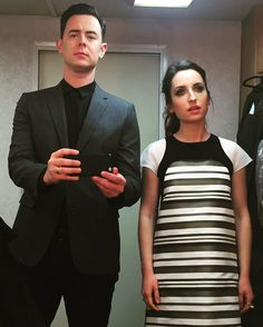 #LifeInPieces http://www.cbs.com/shows/life-in-pieces/news/sme/499/zoe-lister-jones-and-colin-hanks-make-a-gorgeously-gothic-couple/