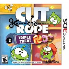 Cut the Rope: Triple Treat for Nintendo 3DS