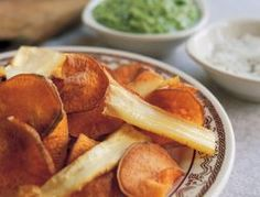 Dinner Side Dishes, Dinner Sides, Sweet Potato Chips, Root Vegetables, Beets, Vegetable Recipes, Carrots, Dips, Potatoes