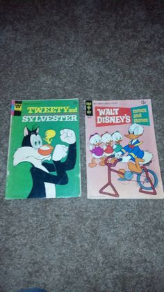This item is unavailable Vintage Comics, Tweety, Walt Disney, 1970s, My Etsy Shop, Handmade Gifts, Check, Hand Made Gifts, Craft Gifts
