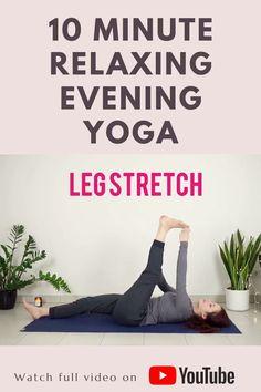 Yoga Poses For Sleep, Sleep Yoga, Bedtime Yoga, Yoga Routine, Night Routine, Night Yoga, Morning Yoga, Gym Workout For Beginners, Yoga Poses For Beginners