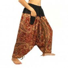 Hmong Hilltribe Pantalon sarouel