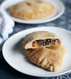 Spiced Lentil, Sweet Potato & Kale Whole Wheat Pockets