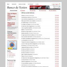 Banco de textos 'http://recursosdidacticos.es/textos/listado_audiolecturas.php' snapped on Snapito!