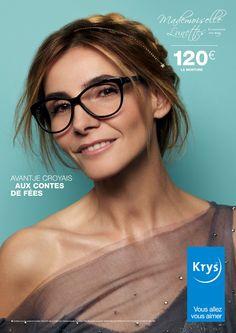 parce que porter des lunettes de vue reste problématique pour beaucoup de  personnes, Krys réunit pas moins de 5 égéries, hommes et femmes, pour  illustrer ... 6c67e2f23cfd