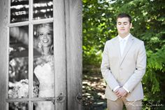 The moments just before the first look- Inner Circle Estate - Kate Saler Photography