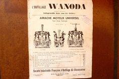 Citroën-Outillage WANODA  pour Citroën Traction avant 7-11C.V - REF 01 | Collections, Objets publicitaires, Publicités papier | eBay!