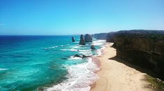 #australia #great #ocean #road #greatoceanroad #backpacking #12apostles sind eig. Nur noch #7apostles #beach #travel by kevinschlingmeier