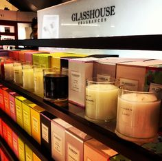 best candles in the world - GLASSHOUSE candles