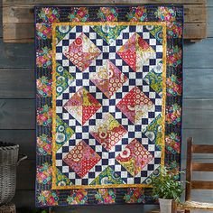 Sweet Medley Folk Song Quilt from Anna Maria Horner's Folk Song collection