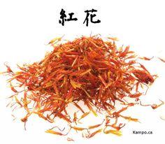 hong hua - saffower: http://kampo.ca/herbs-formulas/herbs/koka/