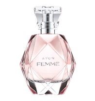 AVON FEMME Eau de Parfum Spray- It's your moment to shine. AVON FEMME captivates from day to night. An elegant fragrance with sparkling freshness and opulent florals. Regularly $30.00, buy Avon Perfume online at http://eseagren.avonrepresentative.com