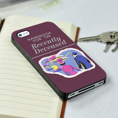 New Beetlejuice Handbook or the Recently Deceased iPhone 4/4S case iPhone 5 case Samsung Galaxy S3 case Samsung Galaxy S4 case from descaCase on Wanelo
