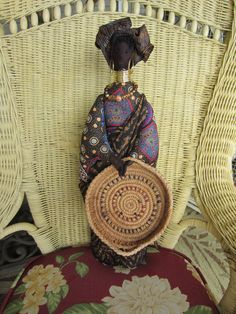 AFRICAN QUEEN DOLL Handmade Ethnic Beauty by jlquilts on Etsy