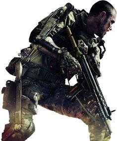Call Of Duty Advanced Warfare -Render By Ashish Kumar