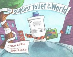 Danny would sit anywhere and everywhere: a comfy couch, a bean bag chair, his mom's lap, a playground swing. The one place Danny wouldn't sit? The toilet. When the pain of rejection becomes too much, the toilet does what any self-respecting toilet would do: He leaves home. In Sam Apple's rollicking children's book debut, with illustrations by Sam Ricks, it's boy vs. bowl in a hilarious contest of wills.