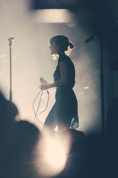 Lauren Mayberry Chvrches at Music Hall of Williamsburg/NYC © David Alvarado 2013 All Rights Reserved