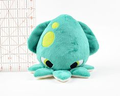 **THIS IS FOR A SEWING PATTERN, IT IS NOT FOR A FINISHED PLUSH** ⌠ kraken plush .pdf pattern ⌡ Release the Kraken! This listing is for a .pdf instant download of a plush sewing pattern, made to look like a Kraken -- that is an angry monster squid known for terrorizing ships. It features