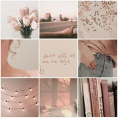 Aesthetic Mood Board// Soft #soft #aesthetic #moodboard