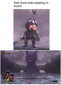 Dark Souls on switch looks great.