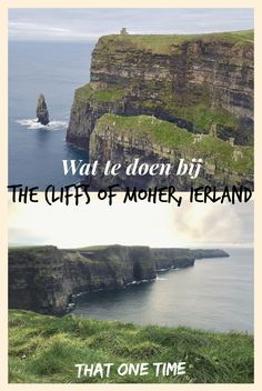 The Cliffs of Moher: de mooiste kliffen van Ierland - That One Time Dublin Nightlife, Dublin Restaurants, Dublin Pubs, Dublin Ireland, Dublin Food, Dublin Shopping, Dublin Travel, Europe Travel Tips, Ireland Travel