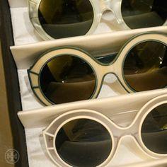 Spring outlook: big, bold frames #toryspring14 #nyfw