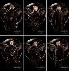All Of The New Mockingjay Part 1 Rebels Posters.