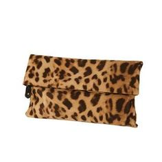 Buy 'DABAGIRL – Leopard Fold-Over Clutch' with Free International Shipping at YesStyle.com. Browse and shop for thousands of Asian fashion items from South Korea and more!