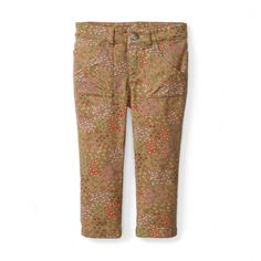 Abani Garden Slim Utility Pants | Abani is an Indian girl's name that means earth. On any adventure, when she's out exploring Mother Nature, these pants are perfect for play.