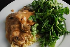 Crock Pot Chicken Parisienne 7 points  (uses fat free cream of mushroom soup)                                          0