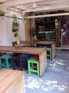 Cafe Zucchini: Cutest restaurant Kids Play Spaces, Bar Displays, Light Snacks, Cafe Style, Best Dining, Interior Architecture, Trip Advisor, Zucchini, Singapore