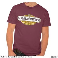 Carlsbad Caverns National Park T Shirts  - This New Mexico Park has 117 caves, the longest of which is over 120 miles long. The Big Room is almost 4,000 feet long, and the caves are home to over 400,000 Mexican Free-tailed BatsCapitol.http://www.zazzle.com/cdandc #nationalparks #carlsbadcaverns #newmexico #vacation #nationalpark #gifts #souvenir #shirt