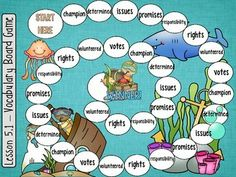 second grade mcgraw hill wonders vocabulary board games units 1