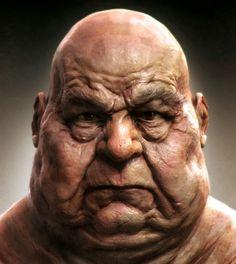 Mold face by Tsvetomir Georgiev