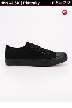 Klasické čierne plátenky J.Star All Black Sneakers, Shoes, Fashion, Moda, Zapatos, Shoes Outlet, Fashion Styles, Shoe, Footwear