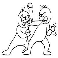El vocabulario- el verbo uno- palear- luchar, combatir.