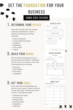 Business Planner, Business Goals, Business Advice, Starting A Business, One Page Business Plan, Creating A Business Plan, Small Business Plan Template, Business School, Diy Business Ideas
