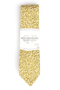 QPxCollections Weed of the Sea tie $62 (Made in USA)