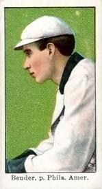 1909 Croft's Candy 3 Chief Bender Philadelphia Athletics baseball card