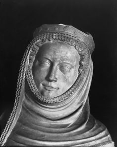 St Elizabeth 1330-1340. (Dated earlier than this board, however due to the style of her veil I suspect that this statue was possibly made anywhere between 20-80 years later)