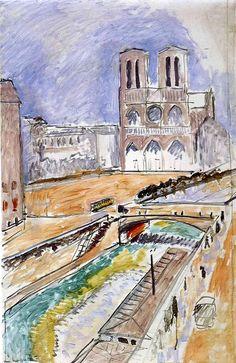 Henri Matisse - Notre Dame 1914