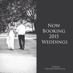 Contact me today! Fall weddings are filling up fast!