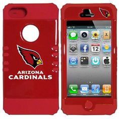 """Checkout our #LicensedGear products FREE SHIPPING + 10% OFF Coupon Code """"Official"""" Arizona Cardinals iPhone 5 Rocker Case - Officially licensed NFL product Licensee: Siskiyou Buckle Fits iPhone 5/5S phones Unique 2 piece design allows easy access to all buttons, controls and ports without having to removing the case. Hard snap on outer case with crisp team graphics Arizona Cardinals logo - Price: $22.00. Buy now at…"""