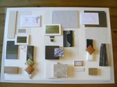 Materials and resources ii design board color pallets What is a sample board in interior design