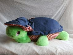 Knickerbocker Plush Turtle Denim. Had this.