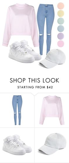 """""""colors"""" by cliffours ❤ liked on Polyvore featuring Glamorous, Acne Studios, NIKE, rag & bone and Deborah Lippmann"""