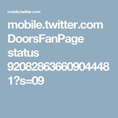 mobile.twitter.com DoorsFanPage status 920828636609044481?s=09
