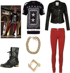 """Outfit inspired by Teen Top's Niel in """"Rocking"""" Mv"""
