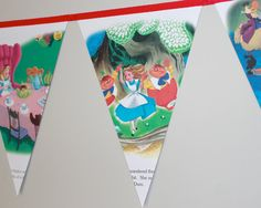 Alice In Wonderland  Classic Disney storybook by RocketnFloss